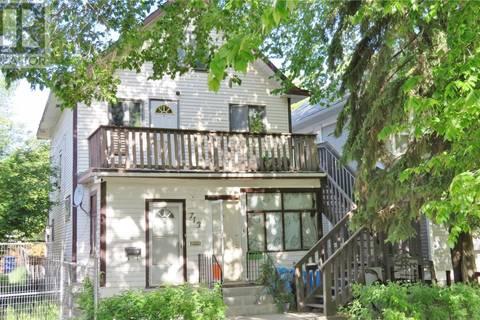 Townhouse for sale at 713 E Ave N Saskatoon Saskatchewan - MLS: SK774442