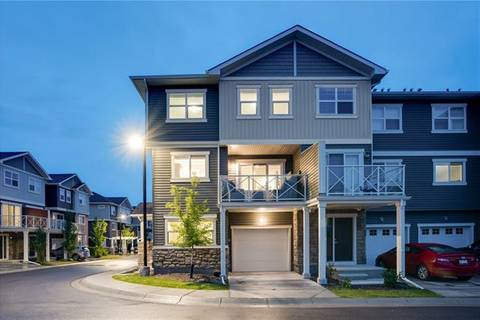 Townhouse for sale at 713 Skyview Ranch Gr Northeast Calgary Alberta - MLS: C4263094