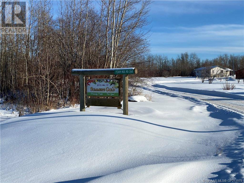 Residential property for sale at 71309 Range Road 260  Greenview, Md Alberta - MLS: GP213979