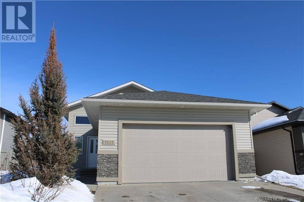 House for sale at 7137 115 St Grande Prairie Alberta - MLS: GP215012