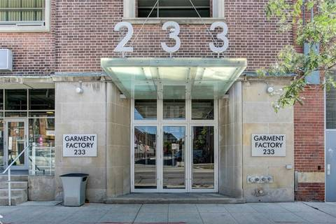 Apartment for rent at 233 Carlaw Ave Unit 714 Toronto Ontario - MLS: E4537036