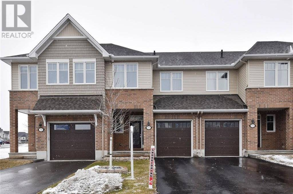Townhouse for sale at 714 Cartographe St Ottawa Ontario - MLS: 1186994