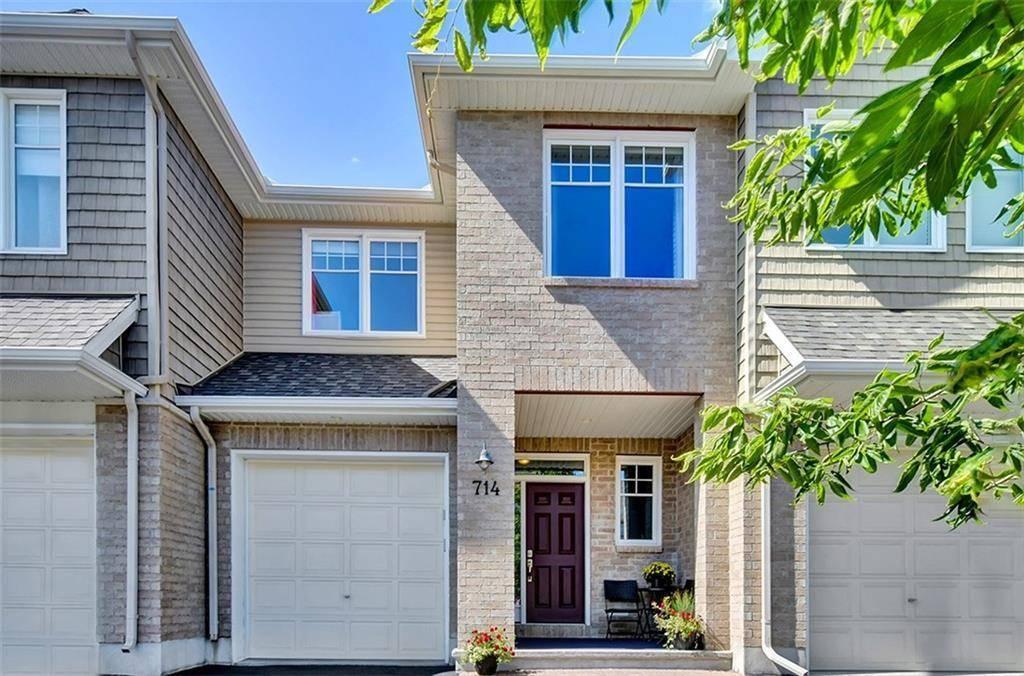 Townhouse for sale at 714 Hazelnut Cres Ottawa Ontario - MLS: 1166588