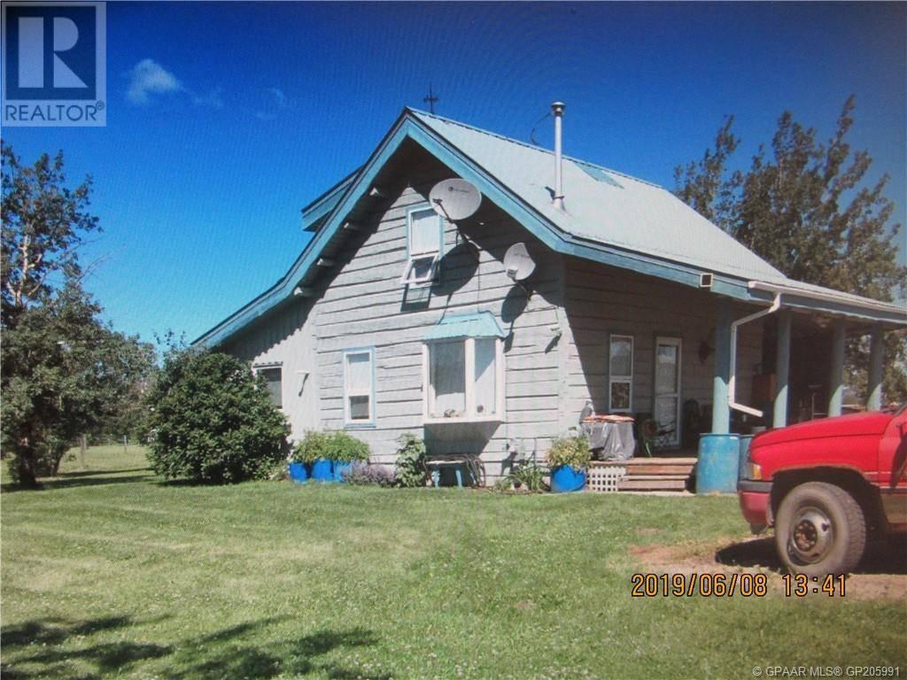 House for sale at 714057 Range Road 95  Beaverlodge Alberta - MLS: GP205991