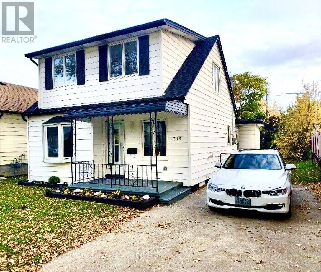 House for sale at 715 Bensette  Windsor Ontario - MLS: 19028382