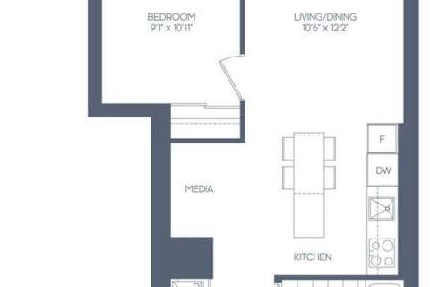 Apartment for rent at 20 Richardson St Unit 716 Toronto Ontario - MLS: C4817132