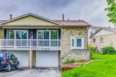 Townhouse for sale at 7163 Bendigo Circ Mississauga Ontario - MLS: W4487198