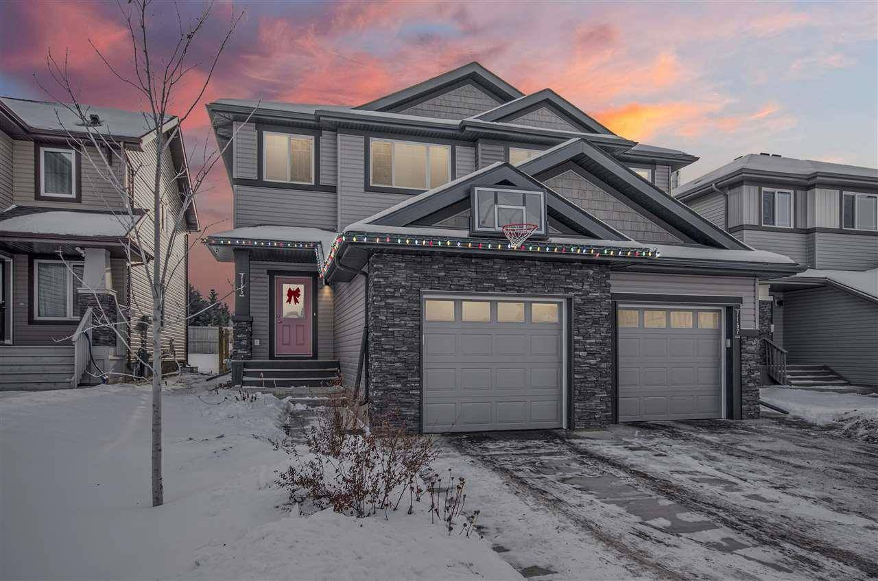 Townhouse for sale at 7165 Cardinal Wy Sw Edmonton Alberta - MLS: E4184361