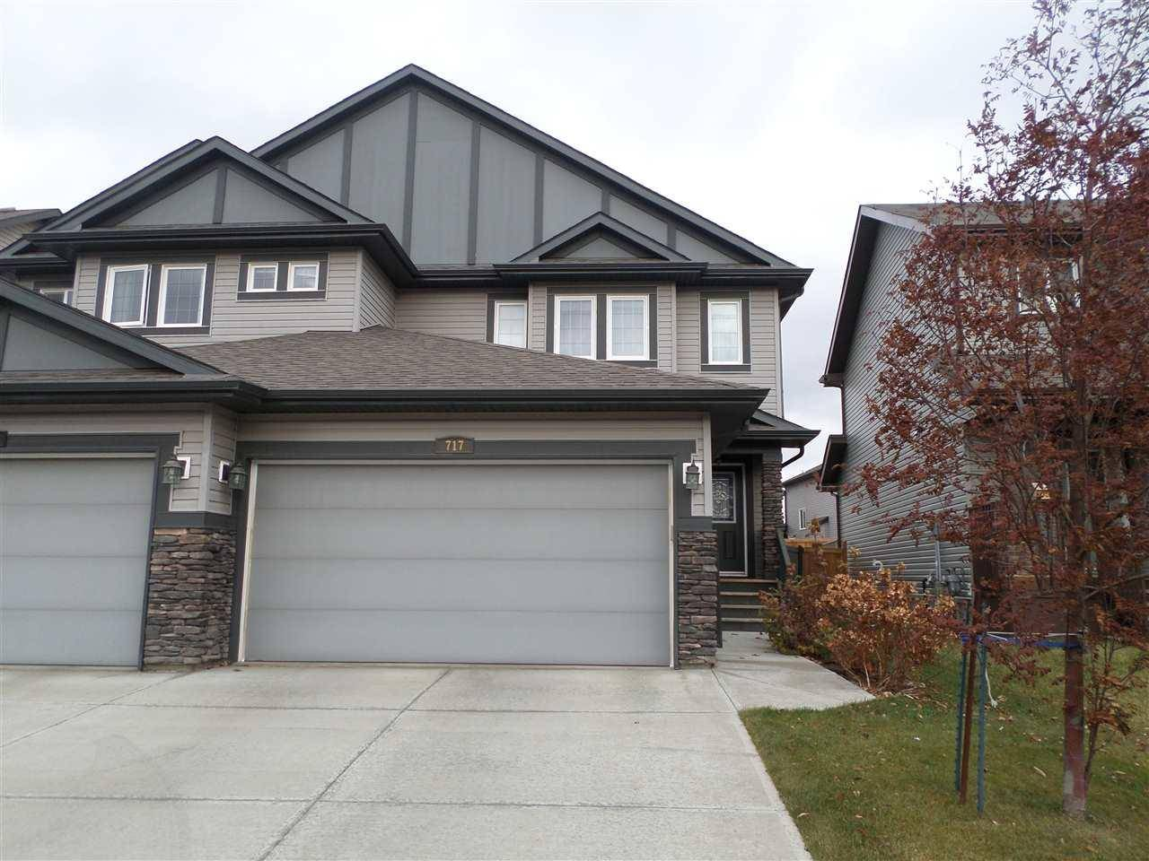 Townhouse for sale at 717 176 St Sw Edmonton Alberta - MLS: E4178953
