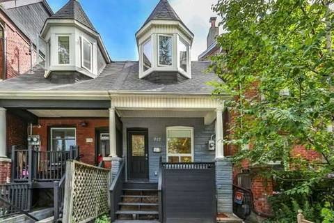 Townhouse for sale at 717 Palmerston Ave Toronto Ontario - MLS: C4548164