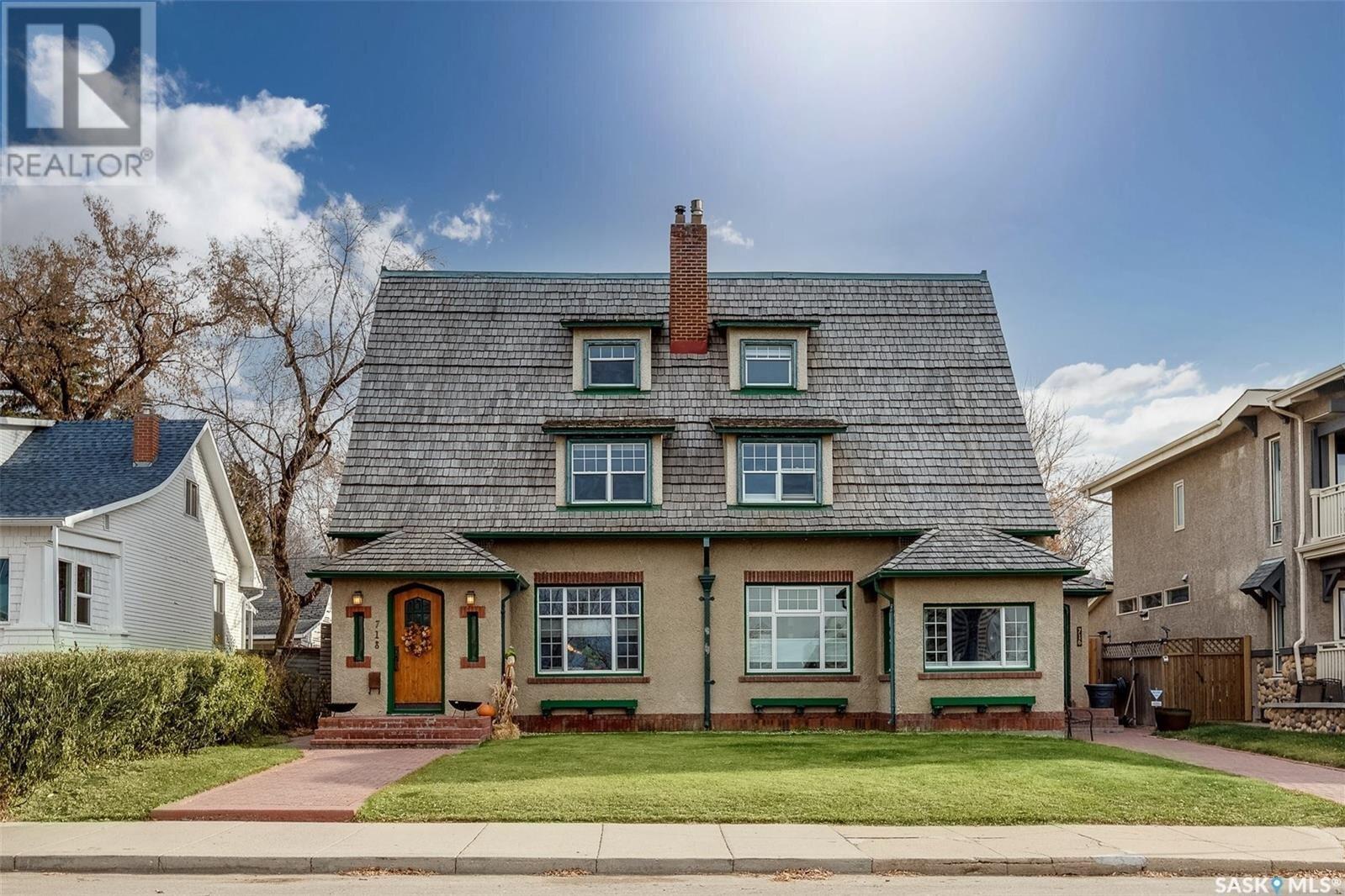 House for sale at 718 Saskatchewan Cres E Saskatoon Saskatchewan - MLS: SK819468