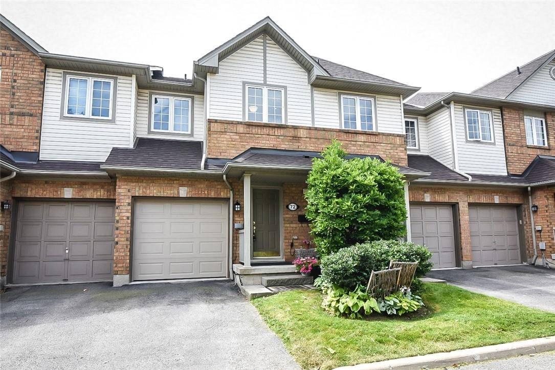 Townhouse for sale at 100 Beddoe Dr Unit 72 Hamilton Ontario - MLS: H4063588