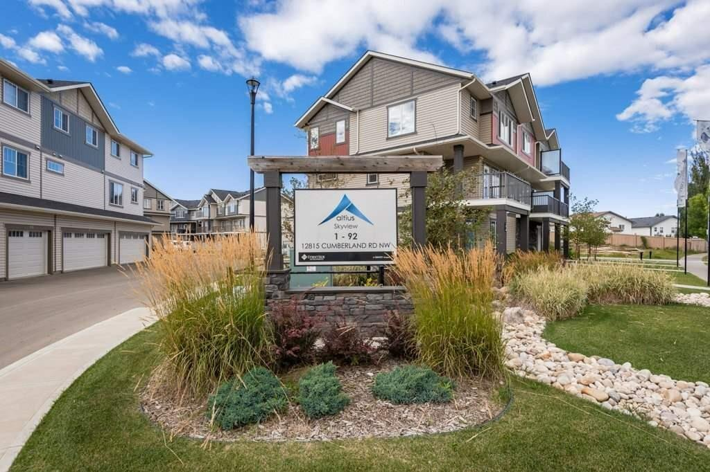 Townhouse for sale at 12815 Cumberland Rd NW Unit 72 Edmonton Alberta - MLS: E4224578