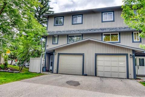 Townhouse for sale at 27 Silver Springs Dr Northwest Unit 72 Calgary Alberta - MLS: C4255688