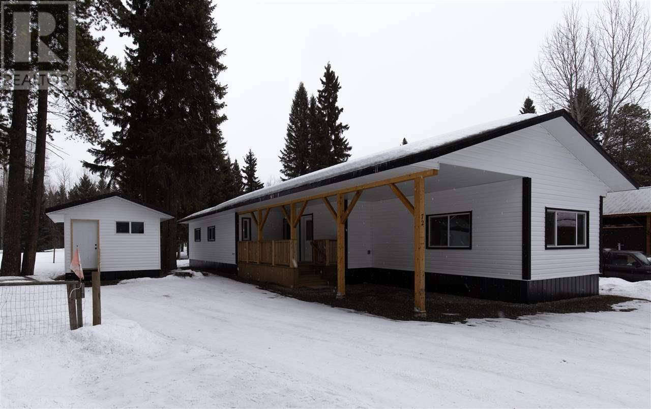 Residential property for sale at 4430 16 Hy Unit 72 Smithers British Columbia - MLS: R2440238