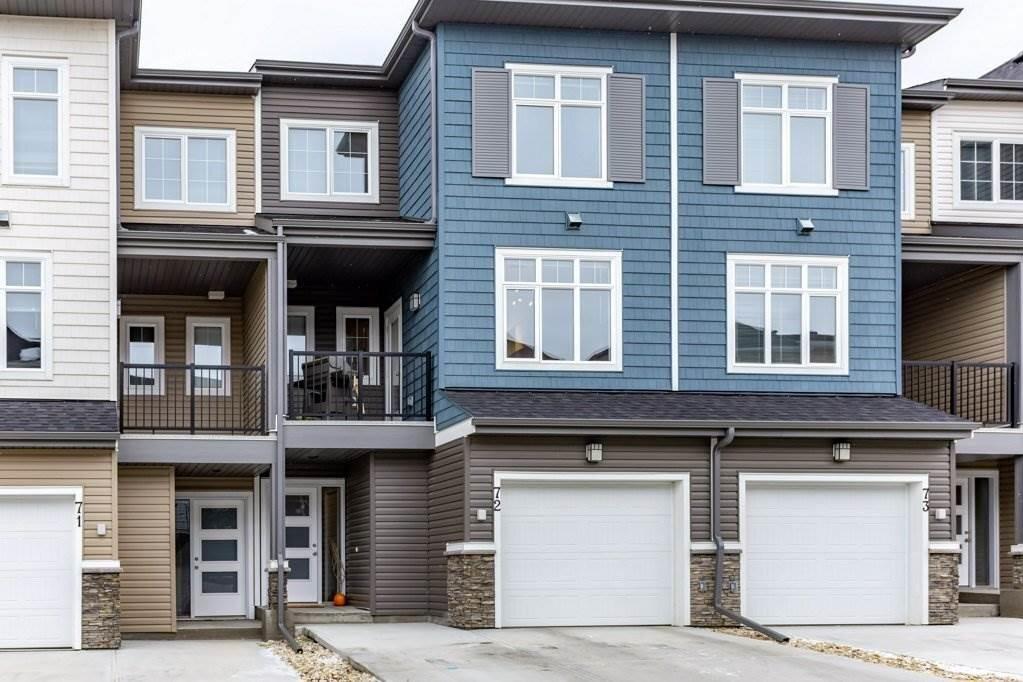 Townhouse for sale at 600 Bellerose Dr Unit 72 St. Albert Alberta - MLS: E4218995