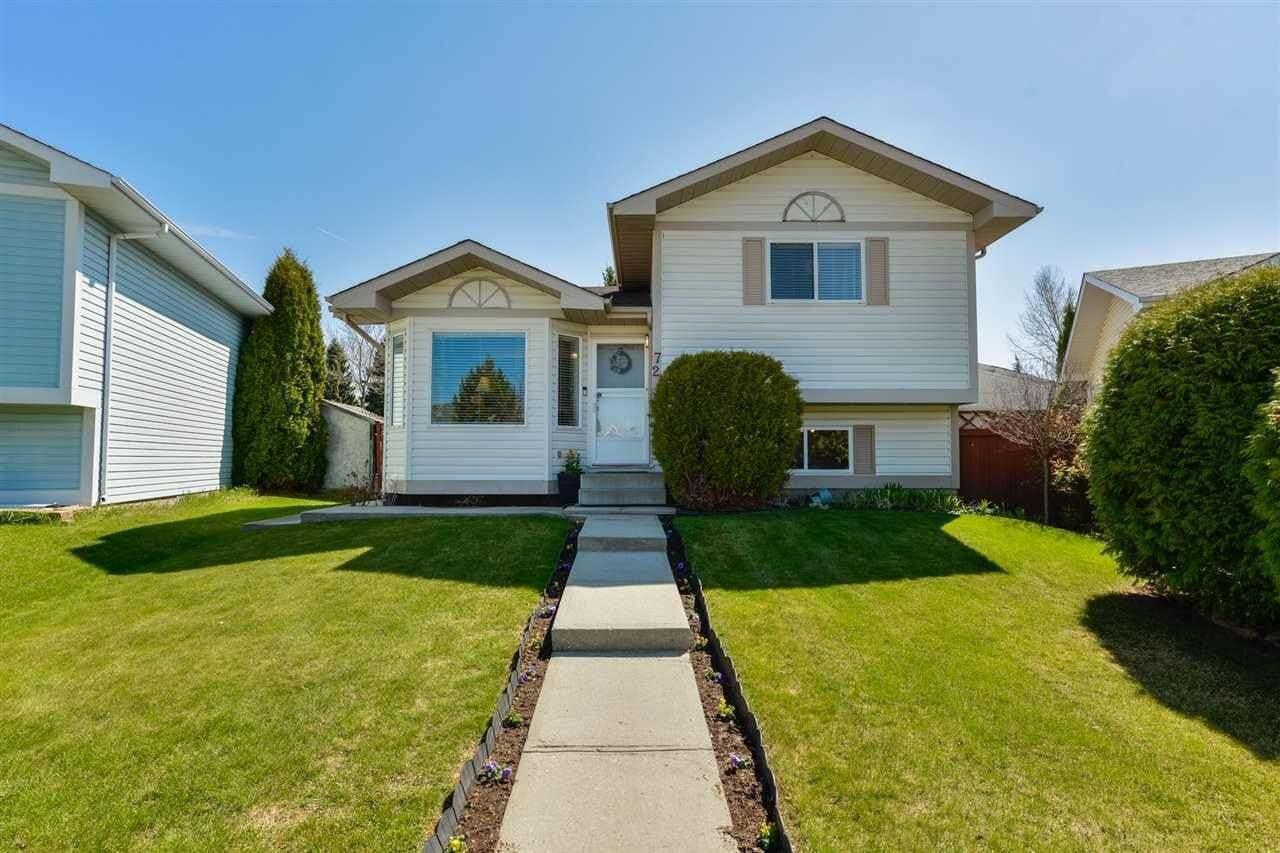 House for sale at 72 Aspenglen Cr Spruce Grove Alberta - MLS: E4197117