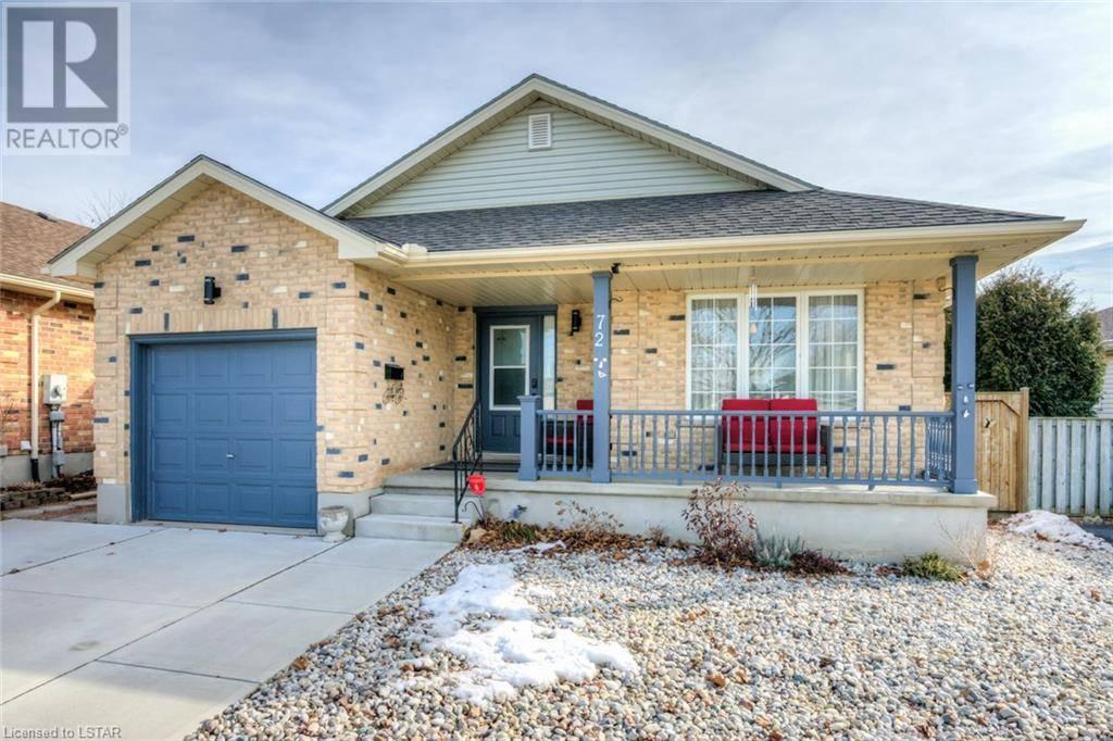 House for sale at 72 Axford Pw St. Thomas Ontario - MLS: 248540
