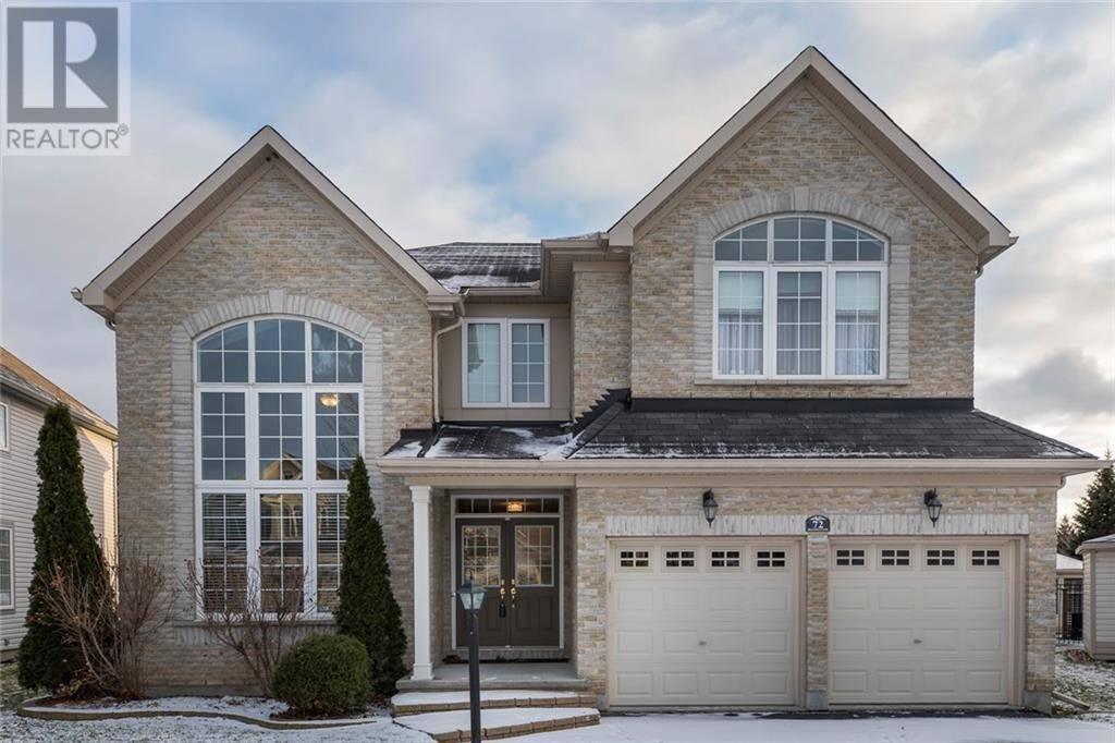 House for sale at 72 Blackshire Circ Ottawa Ontario - MLS: 1176788