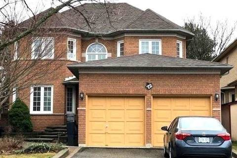 House for rent at 72 Bradgate Dr Markham Ontario - MLS: N4735133