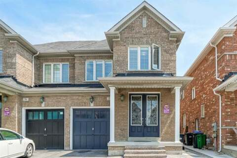Townhouse for sale at 72 Campwood Cres Brampton Ontario - MLS: W4770649