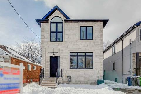 House for sale at 72 Cedarcrest Blvd Toronto Ontario - MLS: E4371444