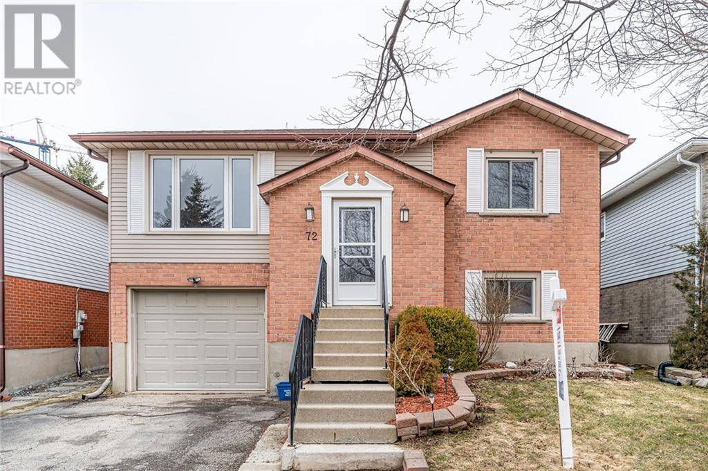 House for sale at 72 Covington Cres Kitchener Ontario - MLS: 30796735