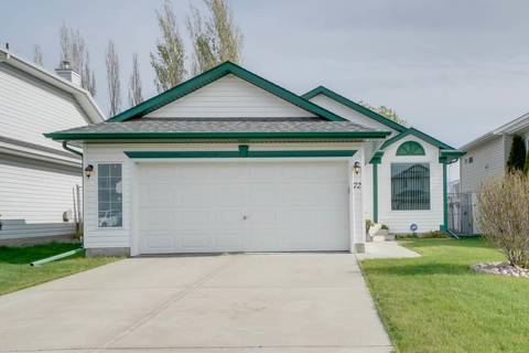 House for sale at 72 Creekside Wy Spruce Grove Alberta - MLS: E4157491