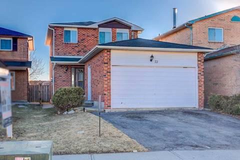 House for sale at 72 Ecclestone Dr Brampton Ontario - MLS: W4460638