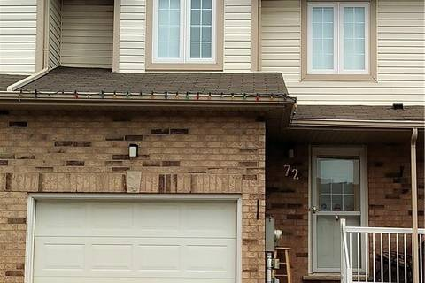 Townhouse for sale at 72 Foxglove Cres Kitchener Ontario - MLS: 30736174