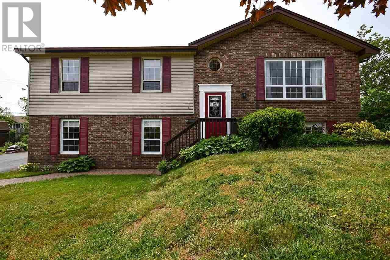 House for sale at 72 Hannebury Dr Dartmouth Nova Scotia - MLS: 202011159