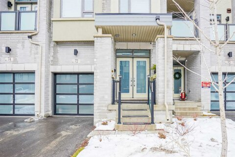 Townhouse for sale at 72 Harold Lawrie Ln Markham Ontario - MLS: N5073807