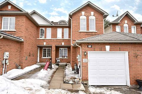 Townhouse for sale at 72 Hawthorne Cres Barrie Ontario - MLS: S4385638