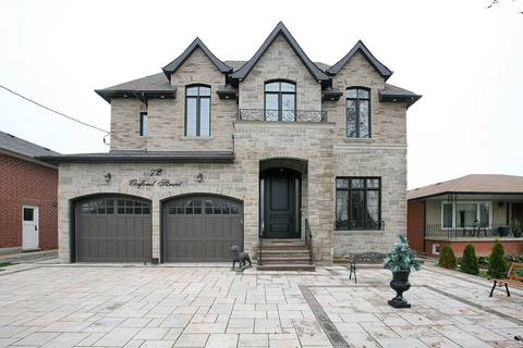 House for sale at 72 Oxford St Richmond Hill Ontario - MLS: N4550259