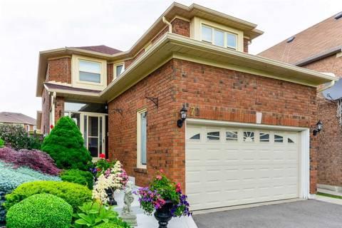 House for sale at 72 Rocky Mountain Cres Brampton Ontario - MLS: W4493763