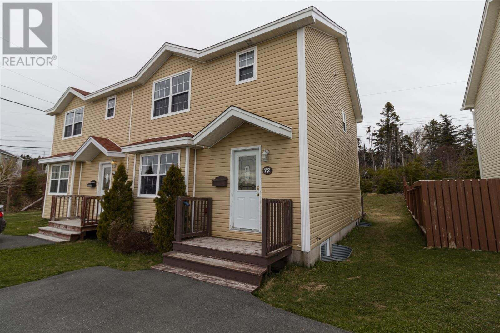 House for sale at 72 Seaborn St St. John's Newfoundland - MLS: 1214146