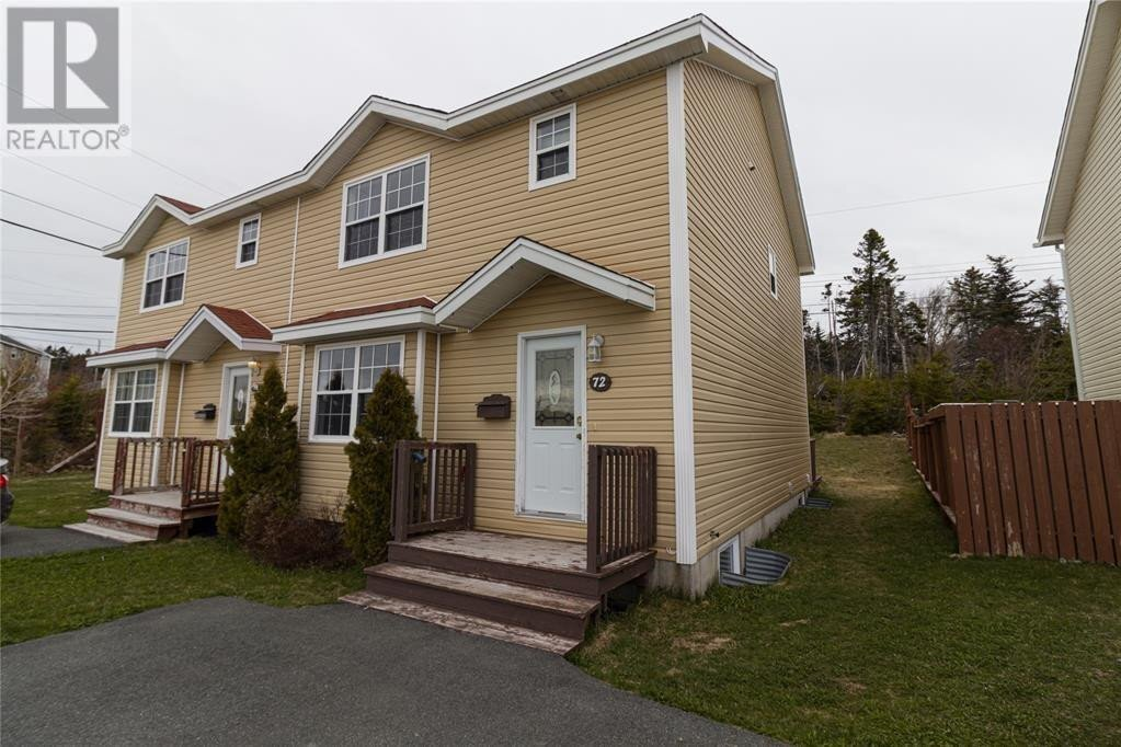 House for sale at 72 Seaborn St St. John's Newfoundland - MLS: 1224453