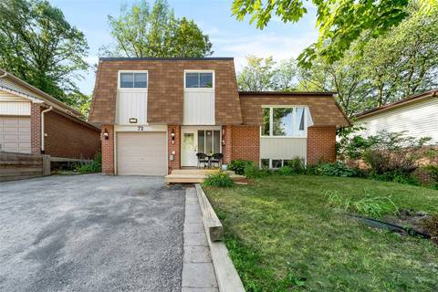House for sale at 72 Springdale Dr Barrie Ontario - MLS: S4516396