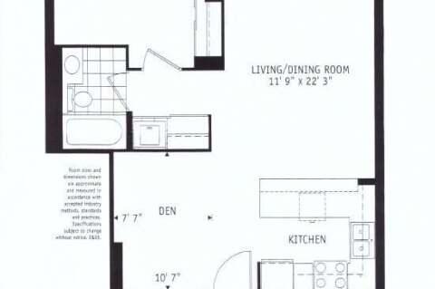 Apartment for rent at 21 Grand Magazine St Unit 720 Toronto Ontario - MLS: C4825021