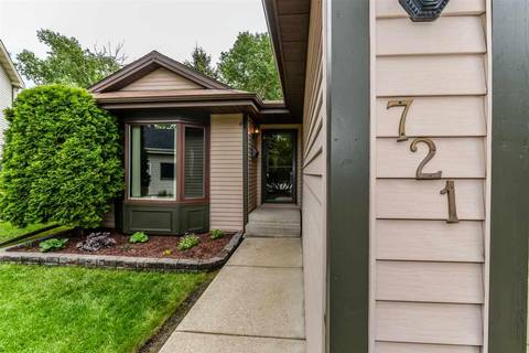 House for sale at 721 Wellington Ln Sherwood Park Alberta - MLS: E4161738