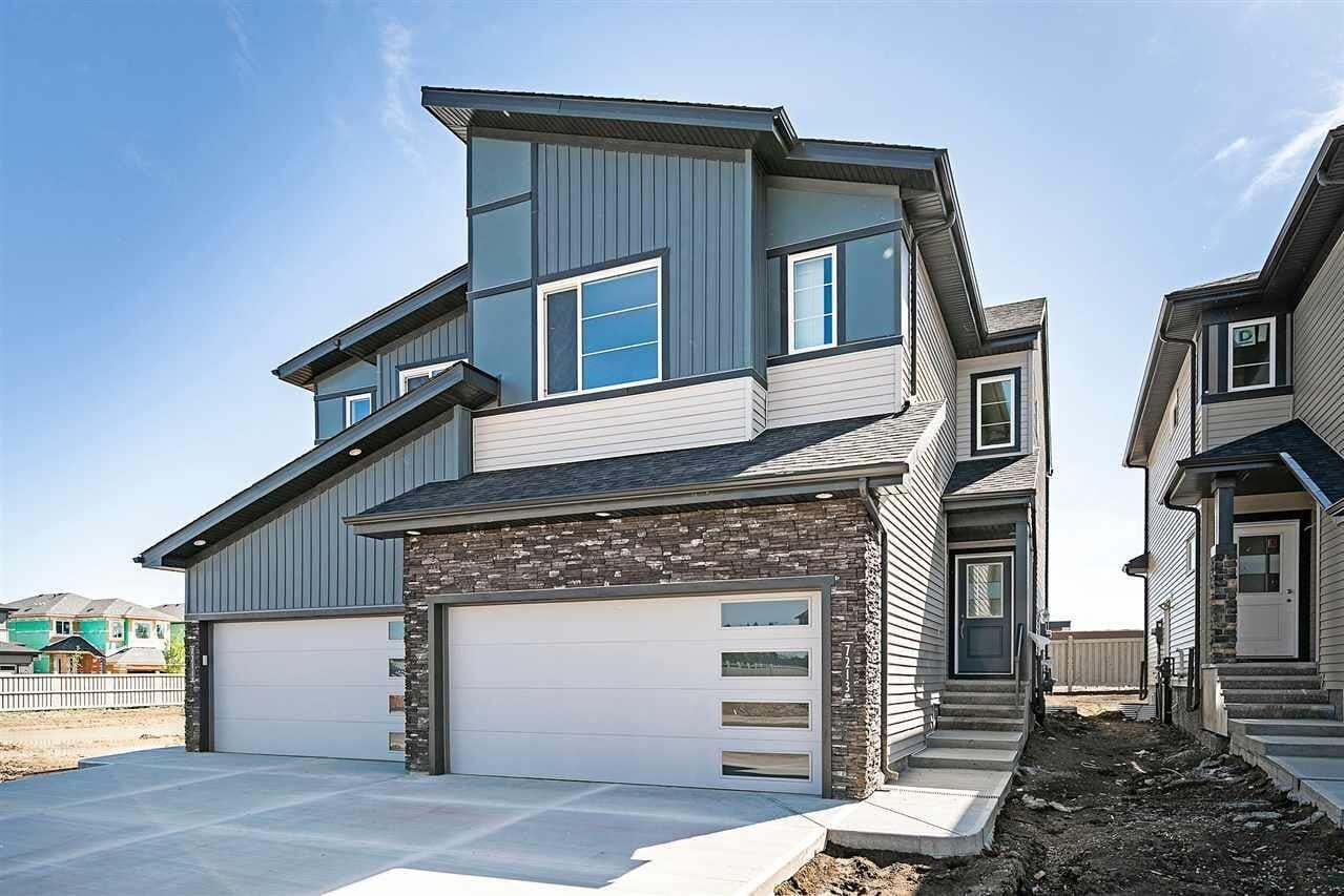 Townhouse for sale at 7213 Chivers Pl SW Edmonton Alberta - MLS: E4200499