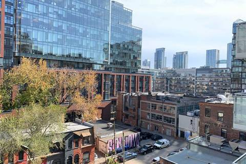 Apartment for rent at 525 Adelaide St Unit 723 Toronto Ontario - MLS: C4659643