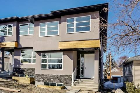 Townhouse for sale at 724 69 Ave Southwest Calgary Alberta - MLS: C4237130