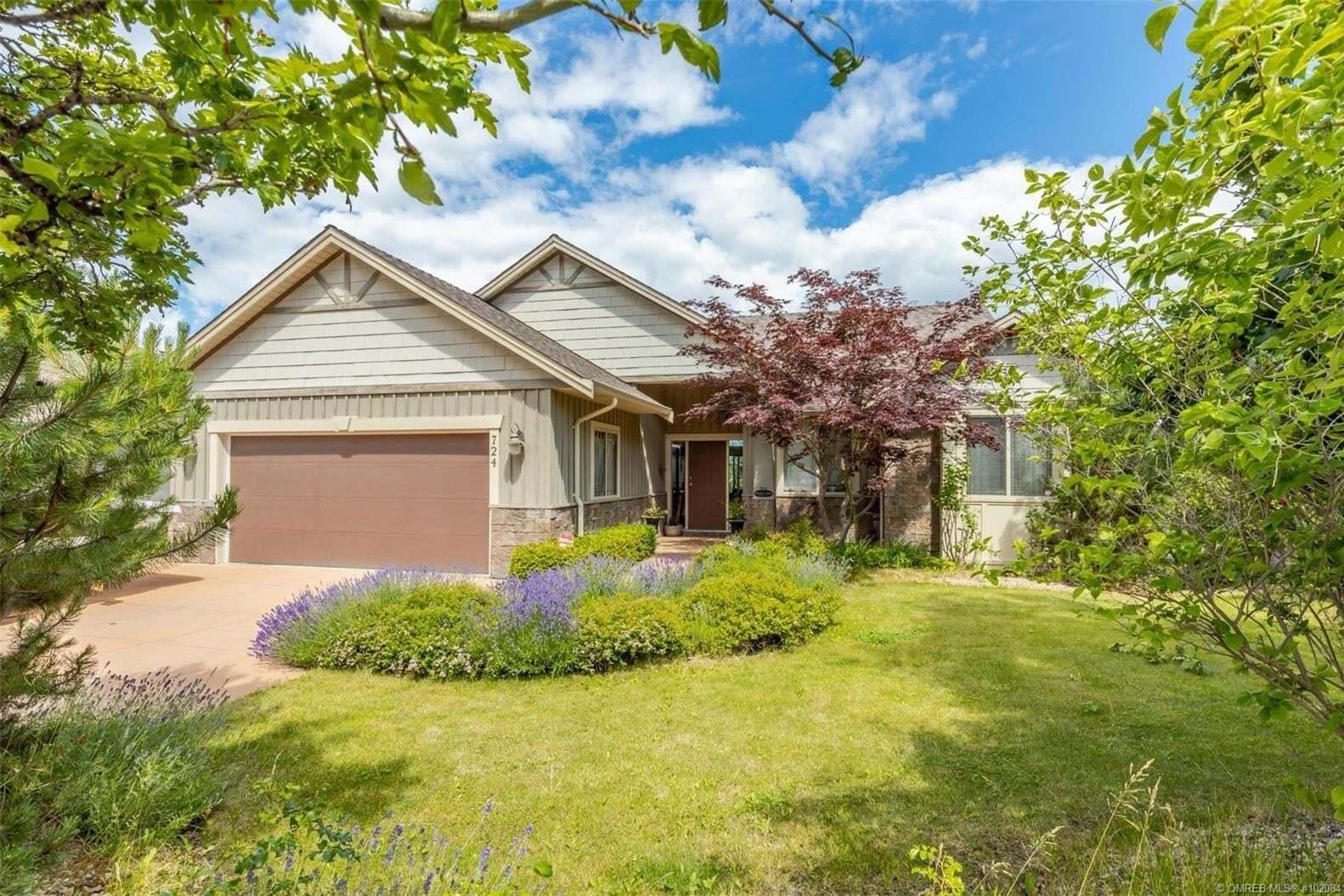 House for sale at 724 Cantina Ct Kelowna British Columbia - MLS: 10208412