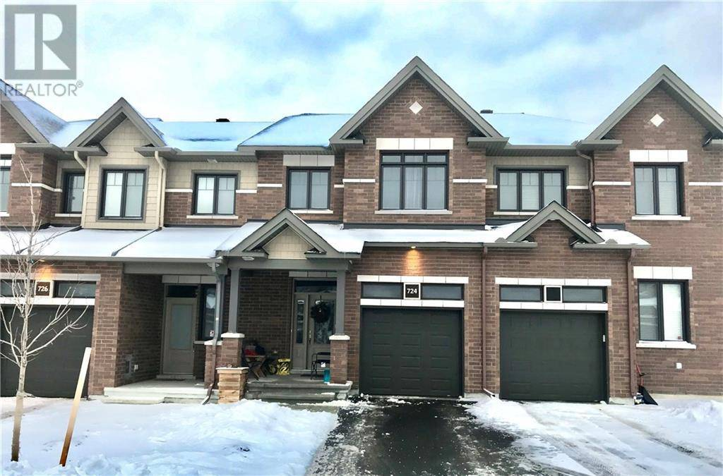 Townhouse for rent at 724 Teasel Wy Ottawa Ontario - MLS: 1180029