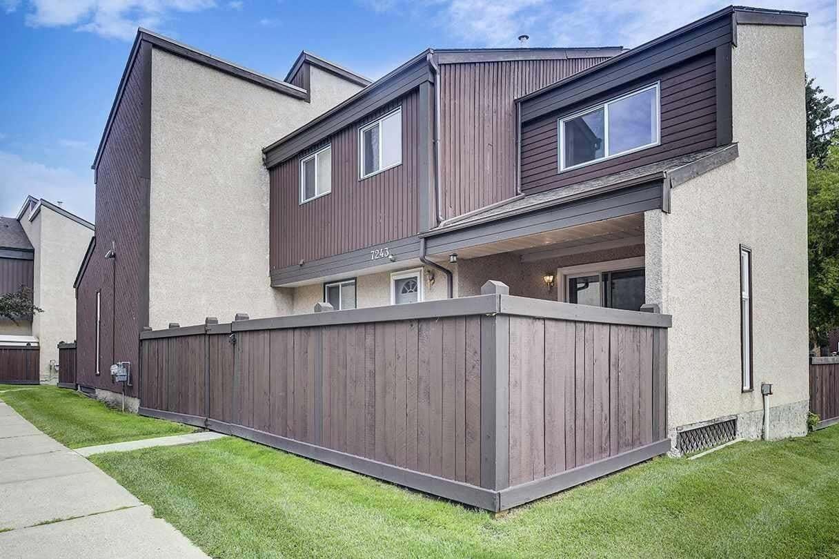 Townhouse for sale at 7243 180 St NW Edmonton Alberta - MLS: E4204661