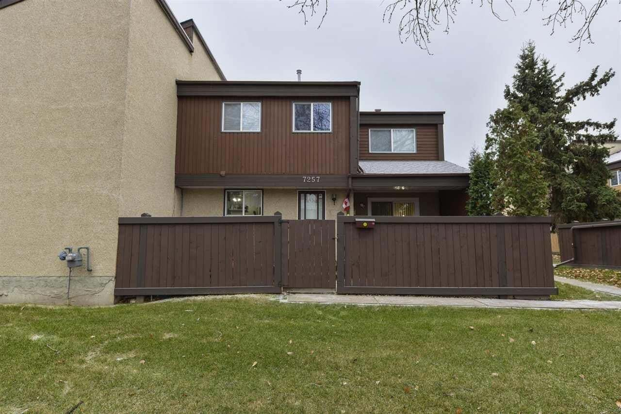 Townhouse for sale at 7257 180 St NW Edmonton Alberta - MLS: E4204634