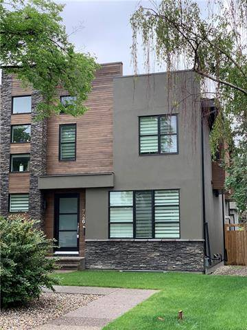 Townhouse for sale at 726 33a St Northwest Calgary Alberta - MLS: C4257389