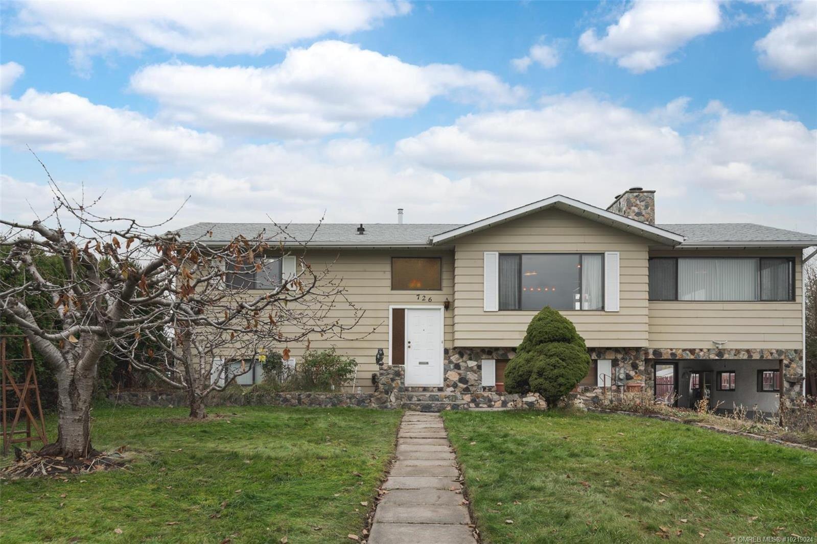 House for sale at 726 Renshaw Rd Kelowna British Columbia - MLS: 10219024