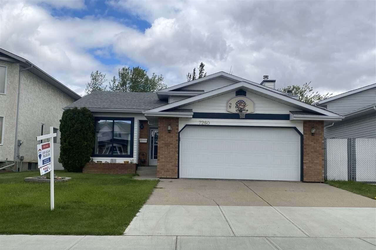 House for sale at 7260 152b Av NW Edmonton Alberta - MLS: E4199626